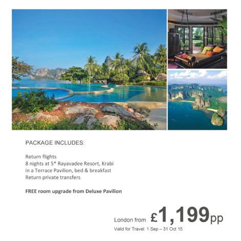 Rayavadee Resort Thailand