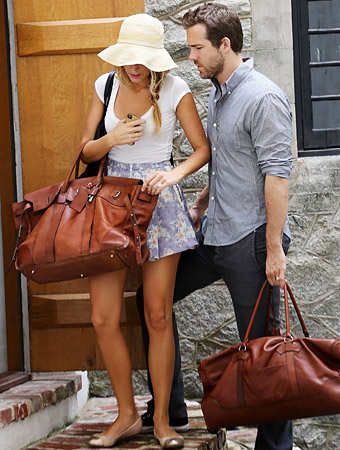 Blake Lively & Ryan Reynold's African honeymoon