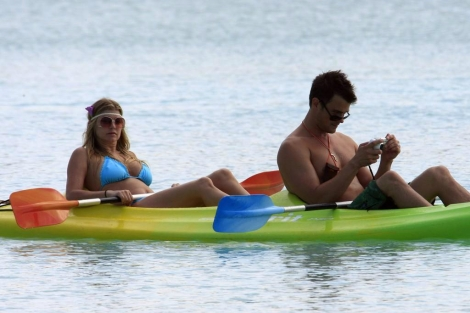 Fergie & Josh Duhamel Maldives honeymoon