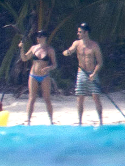 Jennifer Aniston & Justin Theroux Bora Bora honeymoon