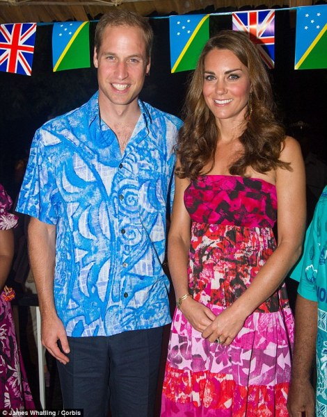 Duke and Duchess and Cambridge honeymooning in Maldives
