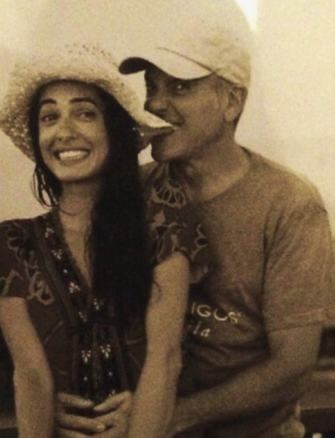 George & Amal honeymoon at Seychelles