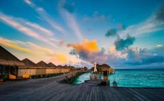 Maldives in the morning (Constance Halaveli Resort & Spa) by Mac Qin