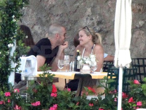 Reese Witherspoon & Jim Toth's Italian honeymoon