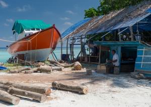 Shipyard (Maldives) by Alessandro Caproni