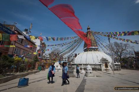"""Stupa near Boudha"""